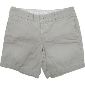 J. CREW Broken-In Boyfriend Shorts Women's Size 4